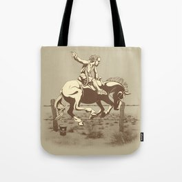 Dude Ranch Tote Bag