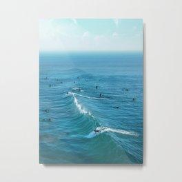 Huntington Beach Metal Print