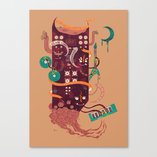 Power Trio Canvas Print