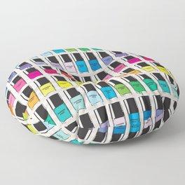 Pantone color Nail Polish Spring color Floor Pillow