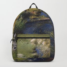 Dennis Miller Bunker - Wild Asters Backpack