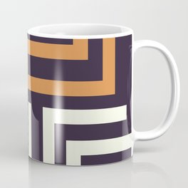 African Tribal Pattern No. 51 Coffee Mug