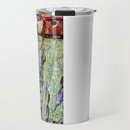 Cracked Paint Travel Mug