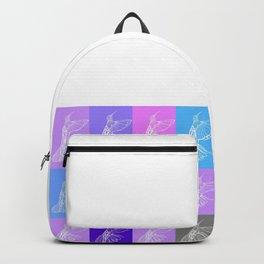 purple hummingbirds Backpack