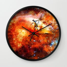 George and Gary Gacrux Wall Clock