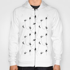 Invasion of the rock climbers Hoody