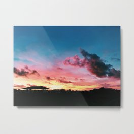 Stunning Sunse Metal Print