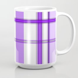 Shades of Purple and White Coffee Mug