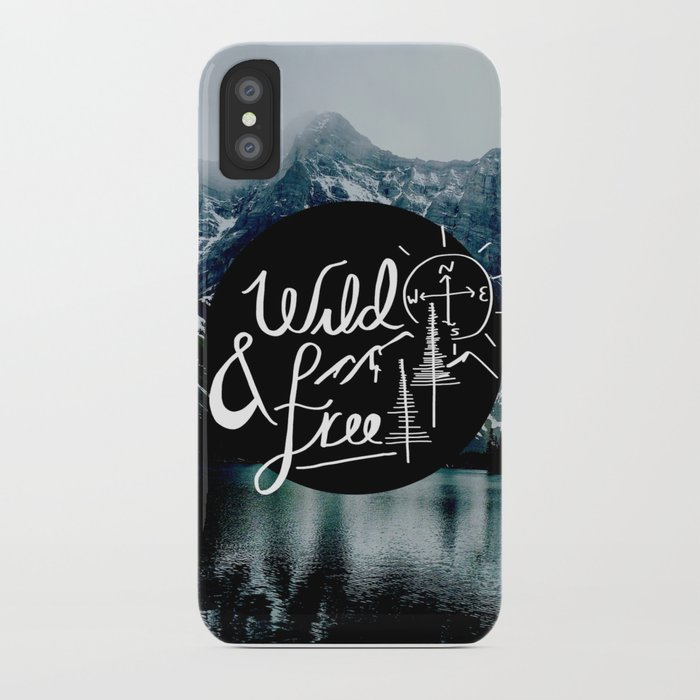 wild&free iPhone Case