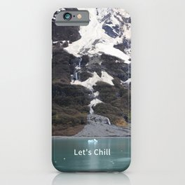 Let's Chill Humorous Get Together Greeting Card iPhone Case