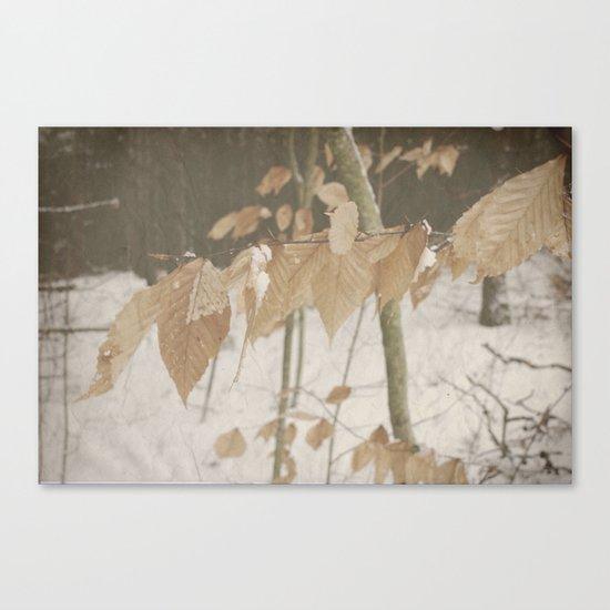 Few Fall Canvas Print