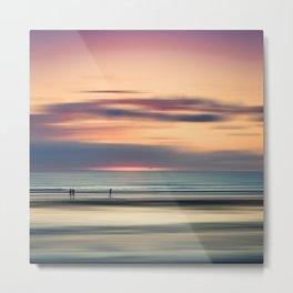 Oceanside Serenity Metal Print