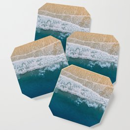 Water on the Beach (Color) Coaster