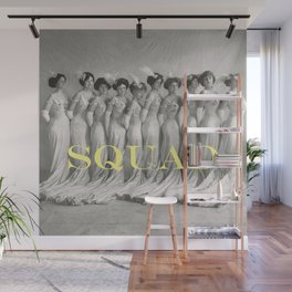 SQUAD Wall Mural