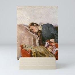 Christian Krohg, Mother and Child, 1883 Mini Art Print