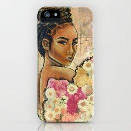 locs n the garden iPhone Case
