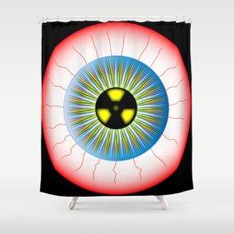 Radioactive Eye Shower Curtain
