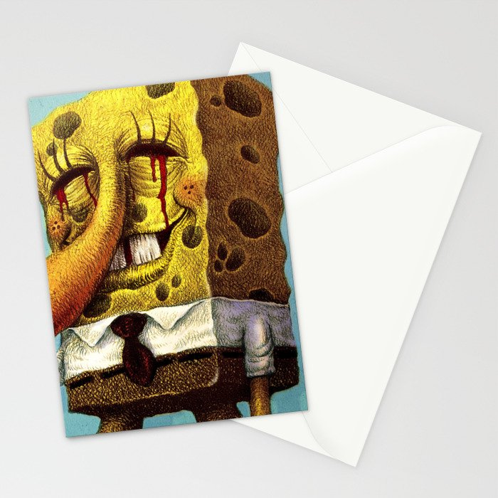 Under happiness( Fan-art) Stationery Cards