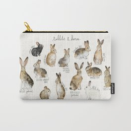 Rabbits & Hares Carry-All Pouch
