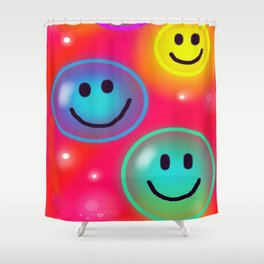 Smile! Shower Curtain