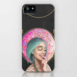 I DONUT care! iPhone Case