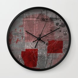 unfolded 8 Wall Clock