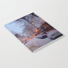 Winter scene Notebook