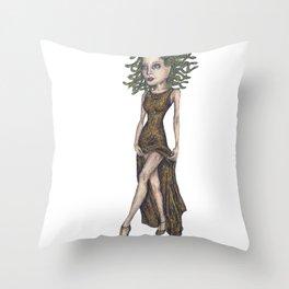Gorgon Throw Pillow