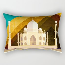 Nature of knowledge Rectangular Pillow