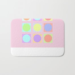 Pastel Dots Bath Mat