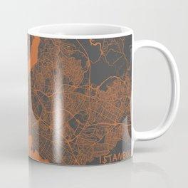Istanbul Map Coffee Mug