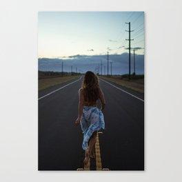 Just walk it off Canvas Print