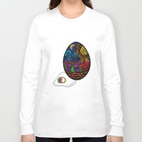 egg Long Sleeve T-shirts featuring Egg by glorya