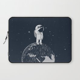 Salutation from Earth Laptop Sleeve