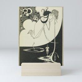AUBREY BEARDSLEY Salome Oscar Wilde The Climax - Woman with Head Mini Art Print