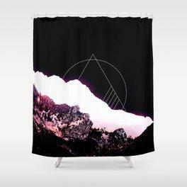 Mountain Ride Shower Curtain