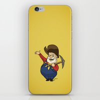 toy story iPhone & iPod Skins featuring Toy Story | Stinky Pete by Brave Tiger Designs