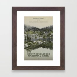 Mount Revelstoke National Park Framed Art Print