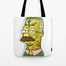 Tatted Up Ned Tote Bag