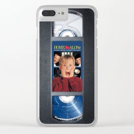 Home Alone vhs iphone-case Clear iPhone Case