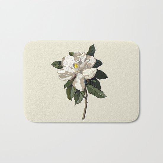 Within a Flower Bath Mat