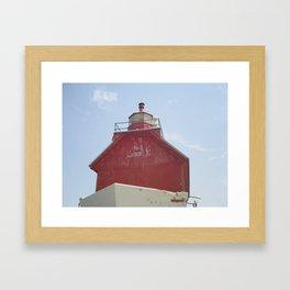 Grand Haven Peir Framed Art Print