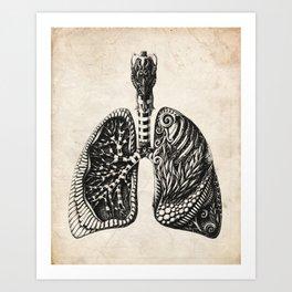 Victorian Anatomy Art Print