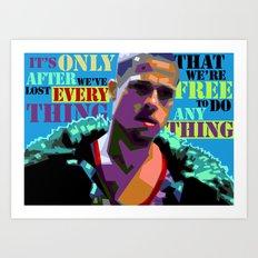 Fightclub 2 Art Print
