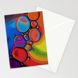 Rainbow Pebbled Pathway Stationery Cards