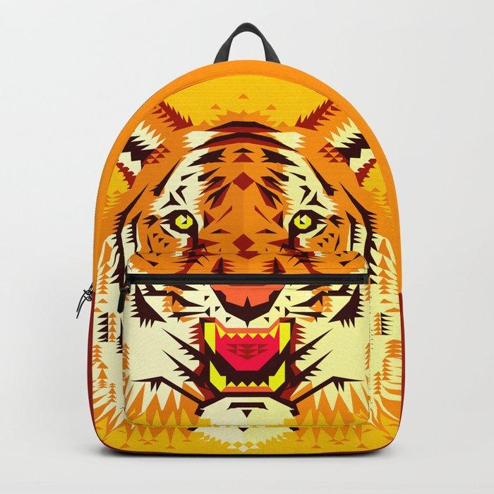Geometric Tiger Backpack