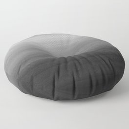Touching Black Gray White Watercolor Abstract #1 #painting #decor #art #society6 Floor Pillow