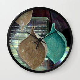 China Bowl, 2, 3 Wall Clock
