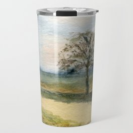 Autumn Path Travel Mug