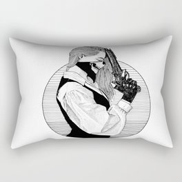 The Duel - Wild West Rectangular Pillow